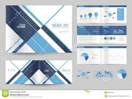 Free Template Company Profile Design Business Brochure Design Template And Page Layout For