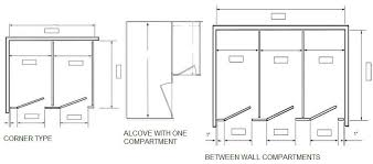 bathroom stall partitions. The Bathroom Stall Partitions