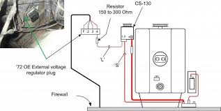 wiring diagram for a one wire alternator the wiring diagram cs one wire alternator question the 1947 present
