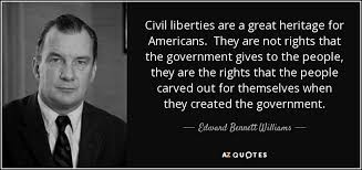 Civil Rights Quotes Beauteous TOP 48 QUOTES BY EDWARD BENNETT WILLIAMS AZ Quotes