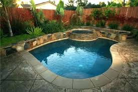 Small Pool Designs For Small Backyards Impressive Small Backyard Pool Ideas Small Backyard Inground Pool Ideas