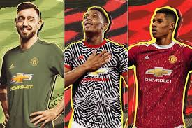 Reviewing manchester united kits 2020/21. Man Utd Fans Disgusted By 2020 21 Leaked Home Away And Third Kits Daily Star