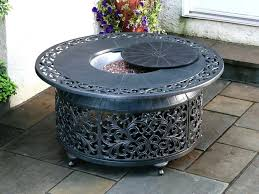 round propane fire pit hole collection round propane fire pit table best ever propane fire pit table set