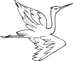 Small Picture Crane Bird NetArt