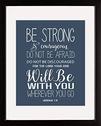 Short Christian Quotes Enchanting Ombura Be Strong And Courageous Inspirational Christian Bible