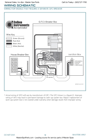 hot tub wiring diagram gfci heater balboa download information Hot Tub Wiring 120V at Balboa Hot Tub Wiring Diagram