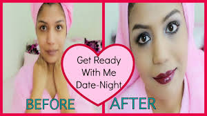 get ready with me date night valentines night makeup clubbing party indian makeup