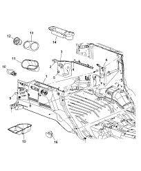 2006 jeep mander rear trim panels diagram i2116364
