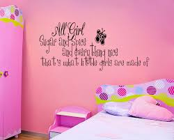 spice little girls room vinyl wall quote decal home decor sticker on little girl bedroom wall art with 20 ideas of wall art for little girl room