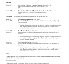 Best Student Resume Format Student Resume Format Example Phenomenal Best Templates For Mba 13