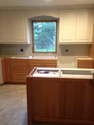 Two Tone Kitchen Cabinet Kitchen Two Tone Kitchen Cabinets With Minimalist Kitchen
