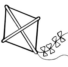 Free Printable Kite Template Kite Coloring Page Fresh Kite Template For Kids Printable Clipart