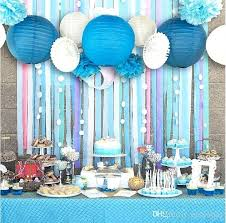 paper chandelier party decorations set of beach themed party under the sea party decoration set girls paper chandelier party