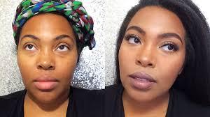makeup for brown skin everyday natural look supa natural