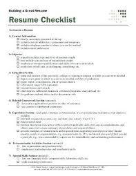 Resume Check Fascinating Resume Check List Best Resume Template Whizzme