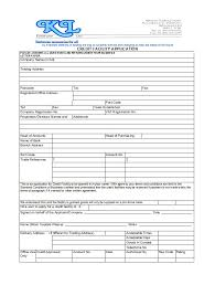 40 Free Credit Application Form Templates Samples