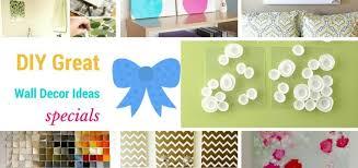 great handmade diy wall decor ideas