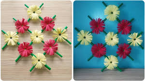 paper decoration ideas wall decoration ideas diy handmade flowers