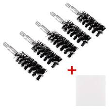 5 Pcs Nylon Bristle Bore Gun Cleaning Brush For Rifle Pistol 5 99 After Code 6chvtek4 25 Off Free S H Over 25