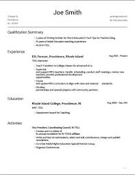 reverse chronological order chronological resume templates resume