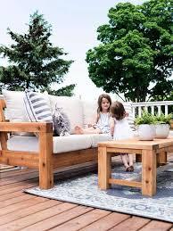 24 diy outdoor sofa plans do it