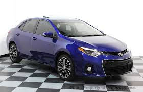 toyota corolla 2015. 2015 toyota corolla certified corolla s plus sedan navi 6 speed 15866755 1