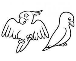 pictures of birds for drawing. Perfect Birds When You Are All Done Have A Finsihed Drawing Like The One See  Here Now Can Enjoy Yourself As Color In Your Birds With Pictures Of Birds For Drawing S