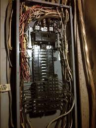 1960s main panel pullout fuse disconnect serving multiple panel