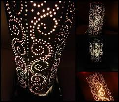 picture of diy moroccan inspired lampshade