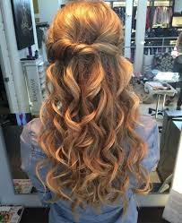 prom hairstyles for short hair half up half down photo 1