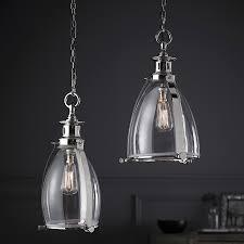 clear glass pendants lighting. Storni Large Clear Glass And Chrome Ceiling Pendant Light Pendants Lighting