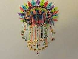 a beautiful paper plate hanging craft is ready to hang now this craft is easy to make and definitely this will be an added beauty to our home