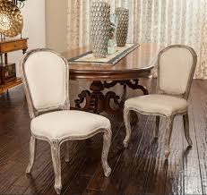 french provincial dining room chairs with curvy back and legs