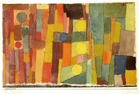 in the style of kairouan paul klee oil painting