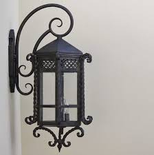 wrought iron outdoor lighting fixtures pictures and enchanting sconces ottoman 2018