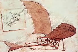 drawings of flying machine