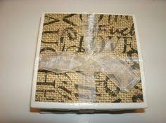 Decorative Tile Coasters Winter Berries in Snow Ceramic Tile Coasters Set of 1100 just 1100100 95