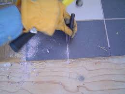 removing tile from floor removing tile from floor concrete slab removal how