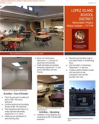 lopez island school district bond lopez school renovation project 1 newsletter