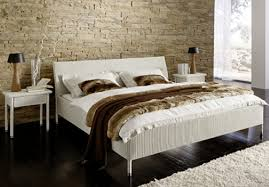ceramic tile headboard.  Tile Furniture White Wicker Bed Frame With Headboard Using King Size Mattress  And Linen On Ceramic Tile Headboard T