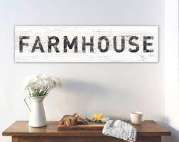 Imagine how happy you would be when you open up your package and there it is, your very own. Large Farmhouse Sign Modern Farmhouse Wall Decor Rustic Etsy Farmhouse Wall Decor Rustic Wall Decor Country Dining Rooms
