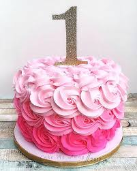 1st Birthday Cake Ideas Baby Girl First Themes Best Woodland Images