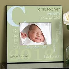 all about baby personalized 5x7 wall frame for boys