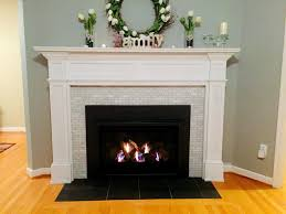 client requested an updated fireplace surround while adding a sealed gas insert description from fritzkoch