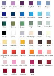 Calla Lily Color Chart Color Chart