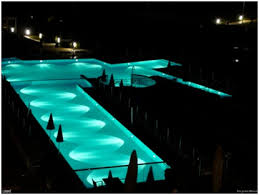 swimming pool lighting design. Fine Lighting Example Of Pool Lighting Design For A Big With Offset Lights For Swimming Pool Lighting Design F