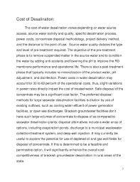 essay on water desalination 7