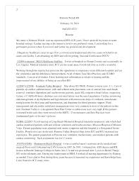 Rn Resume Cover Letter Cover Letter Sample For Graduate Graduate ...
