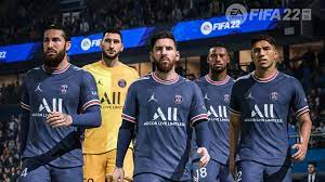 FIFA 22: EA Sports celebrates the transfer of Messi to PSG
