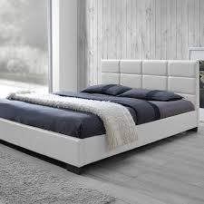 baxton studio vivaldi white queen upholstered bedhd